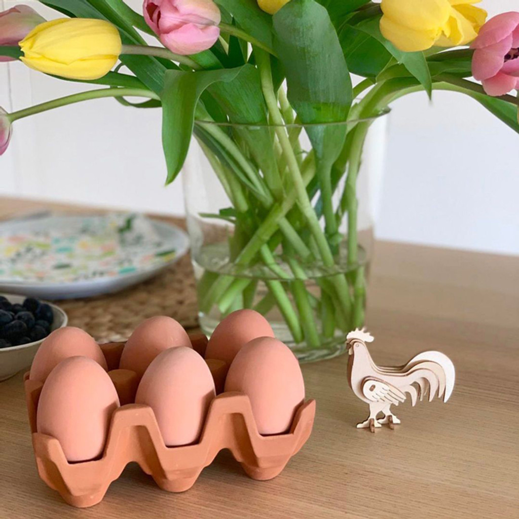Terracotta Egg Holder