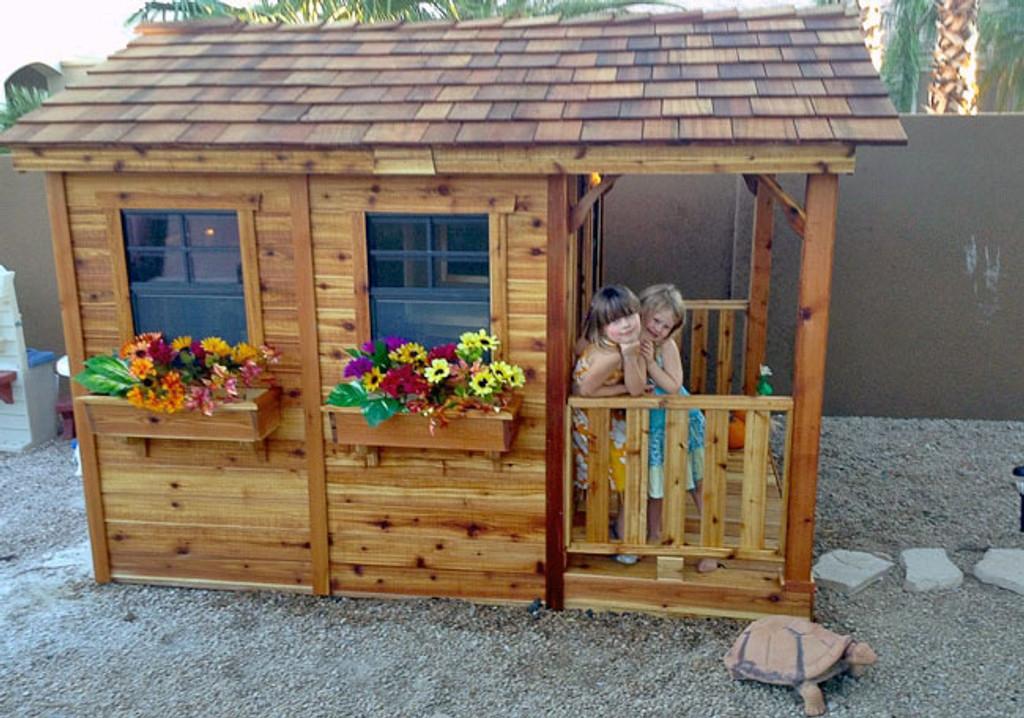 6' x 9' Cedar Playhouse