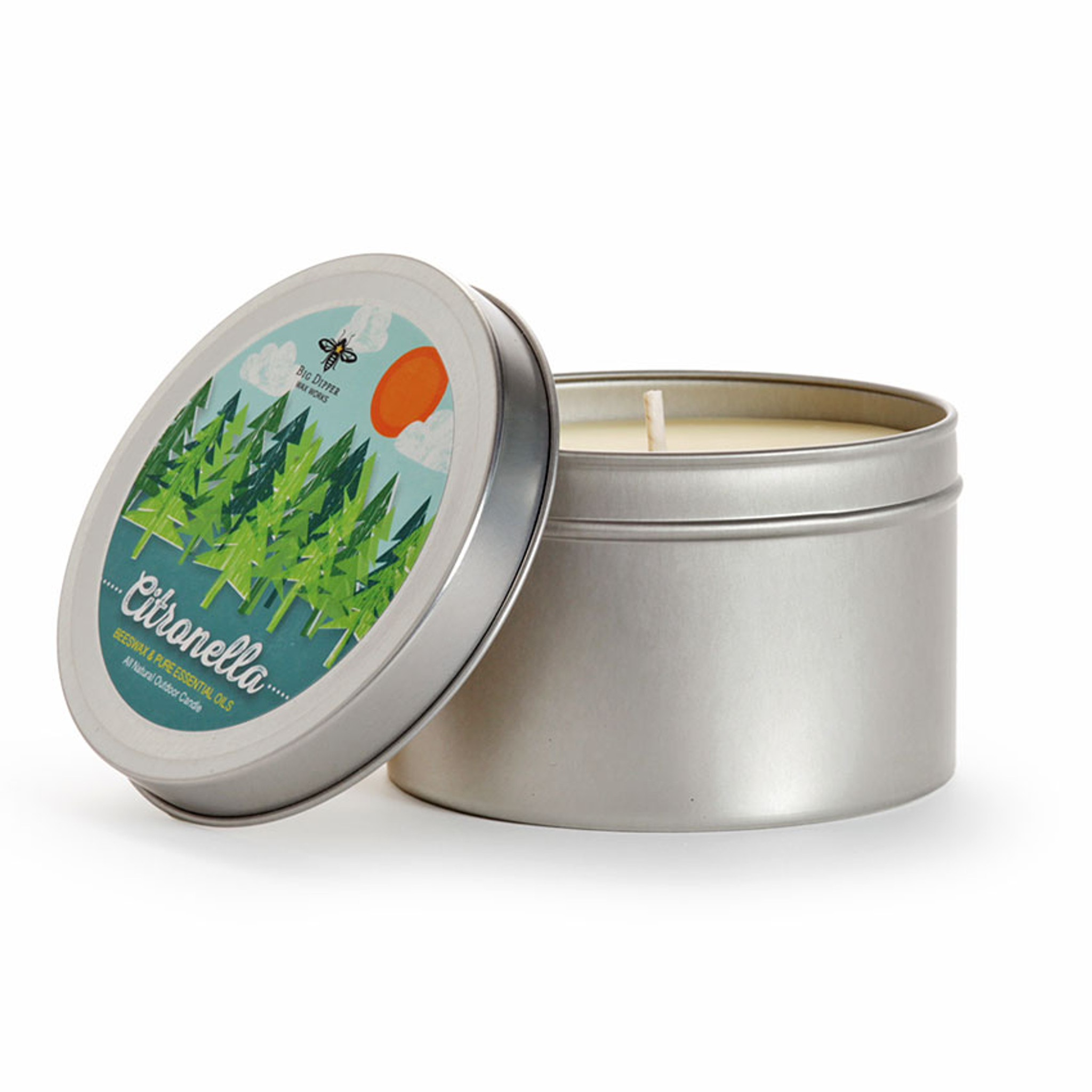 Citronella Beeswax Candle Eartheasy Com