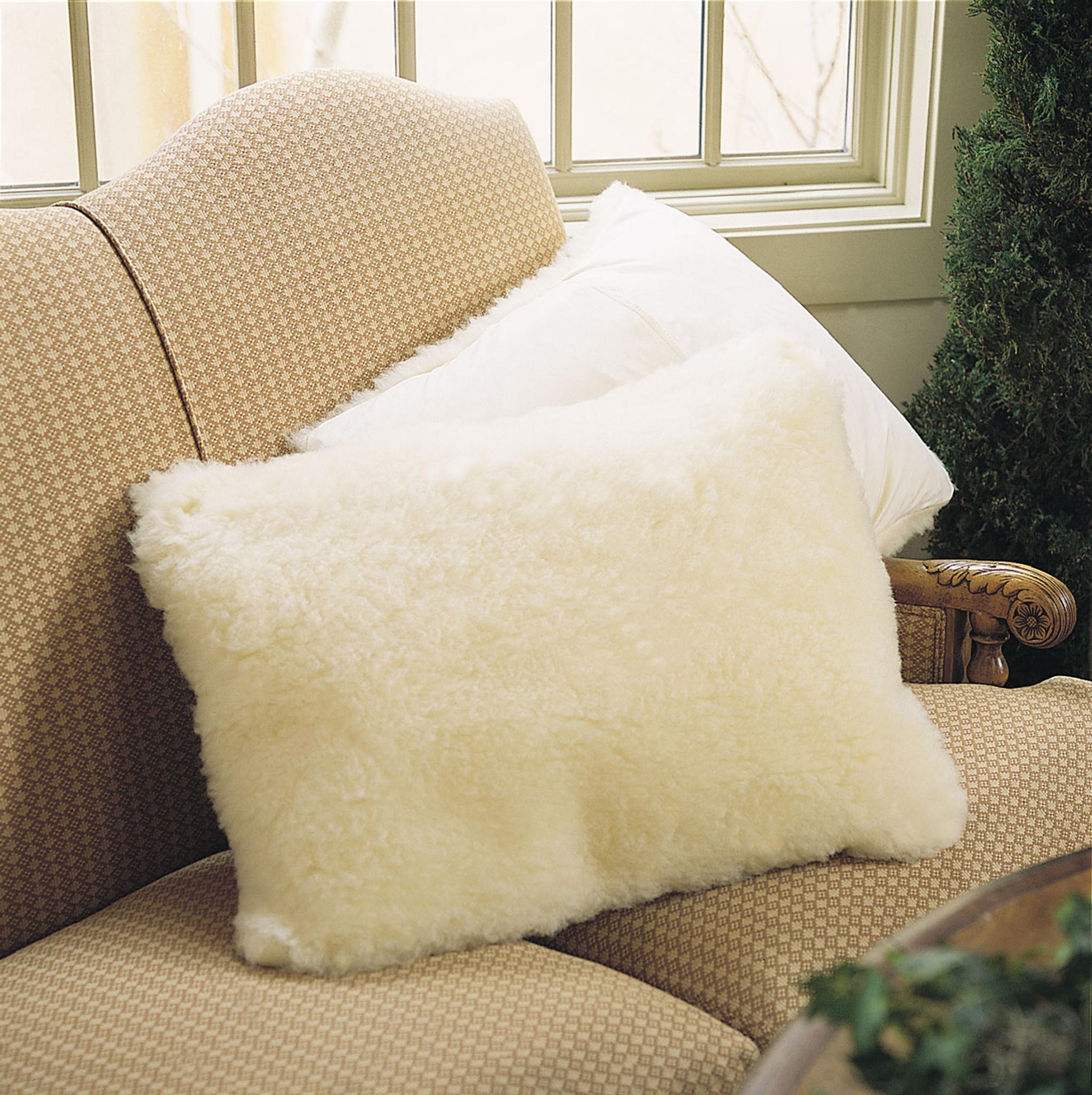 Snugsoft Deluxe Wool Pillow Sham Eartheasy Com