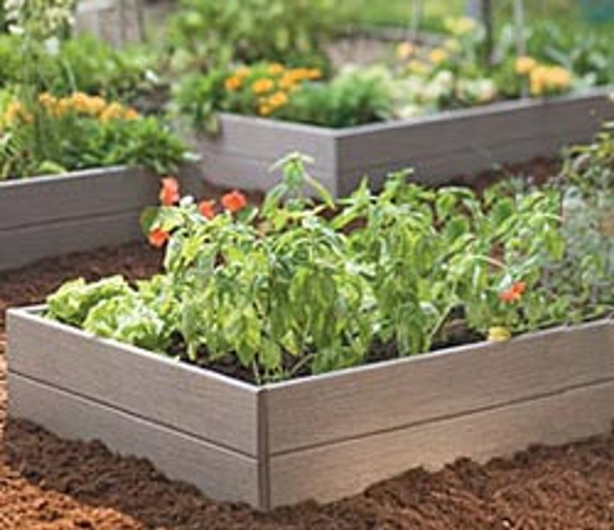 Picture of: Recycled Plastic Raised Garden Bed 4 X 8 X 16 5 Eartheasy Com