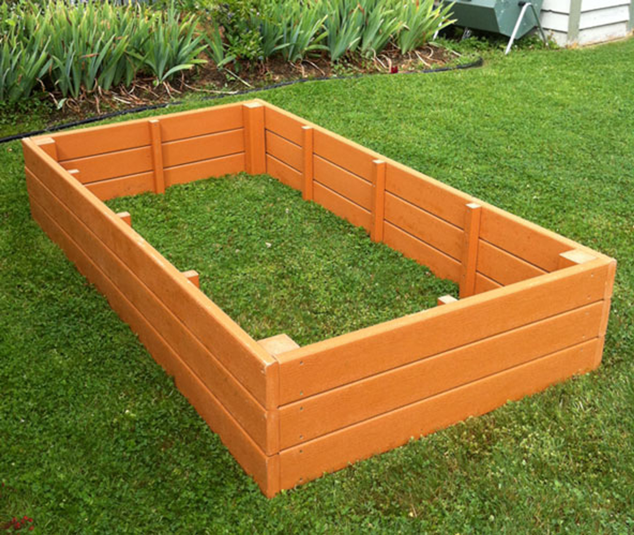 Recycled Plastic Raised Garden Bed 4 X 8 X 16 5 Eartheasy Com