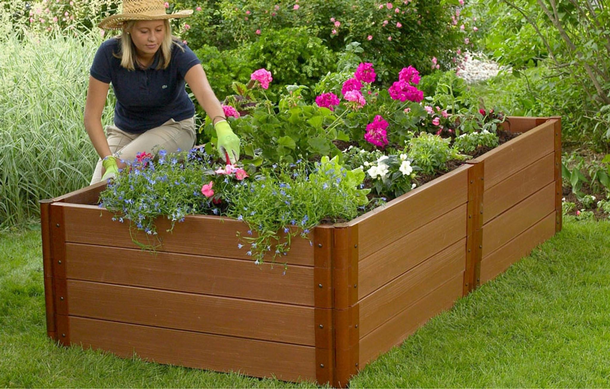 Composite Raised Garden Bed 4 X 8 Eartheasy Com