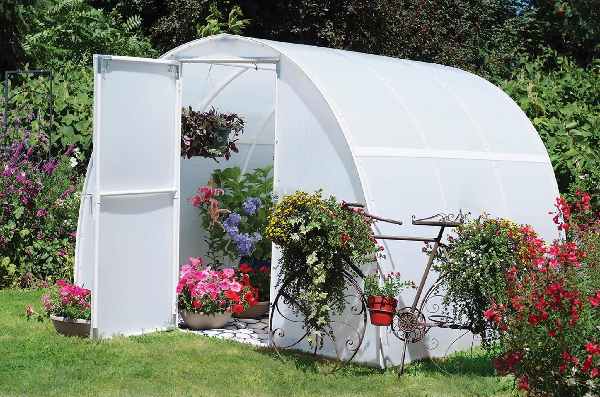 Solexx Early Bloomer Greenhouse Kit 8' x 8' x 6'3