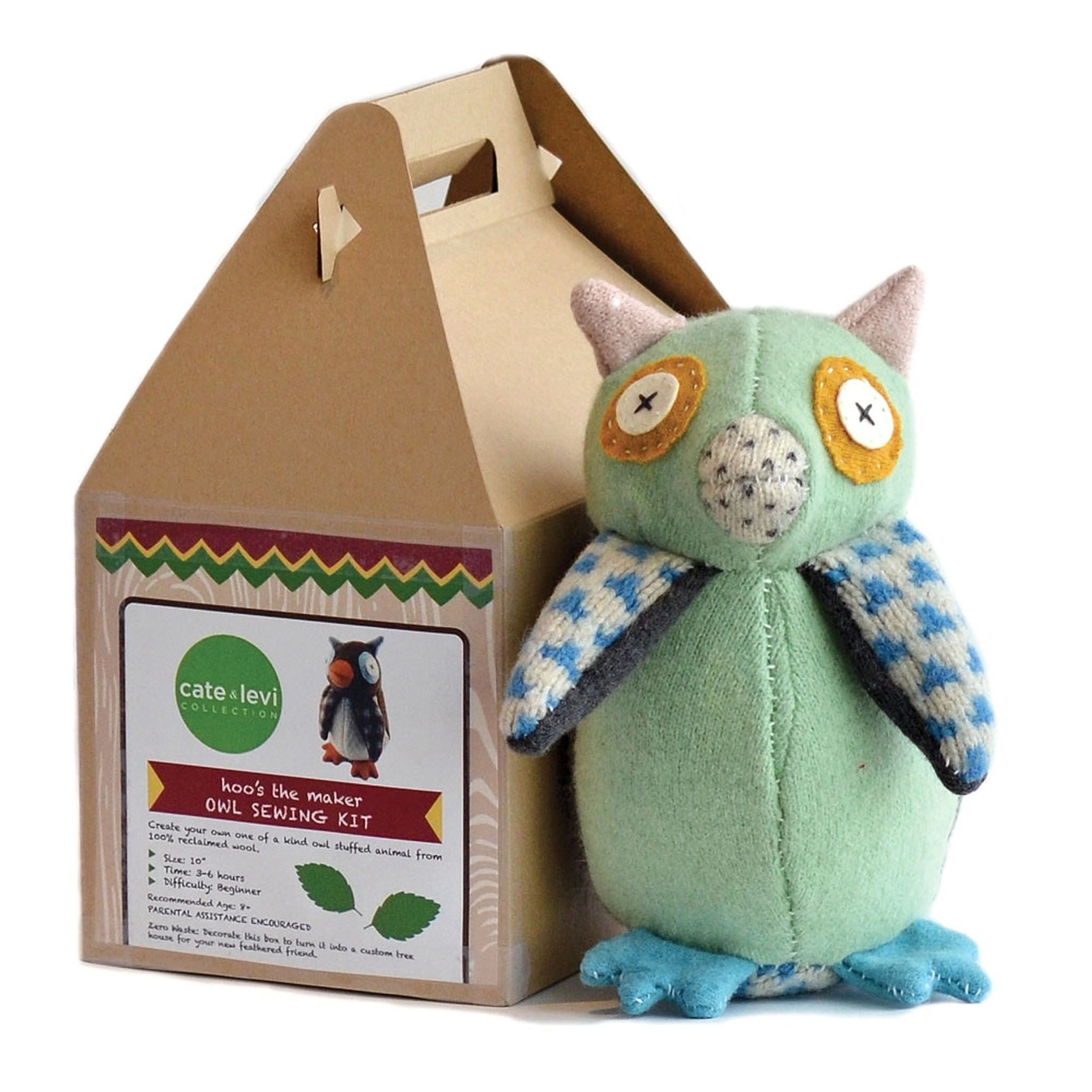Owl Stuffed Animal Making Kit Eartheasy Com