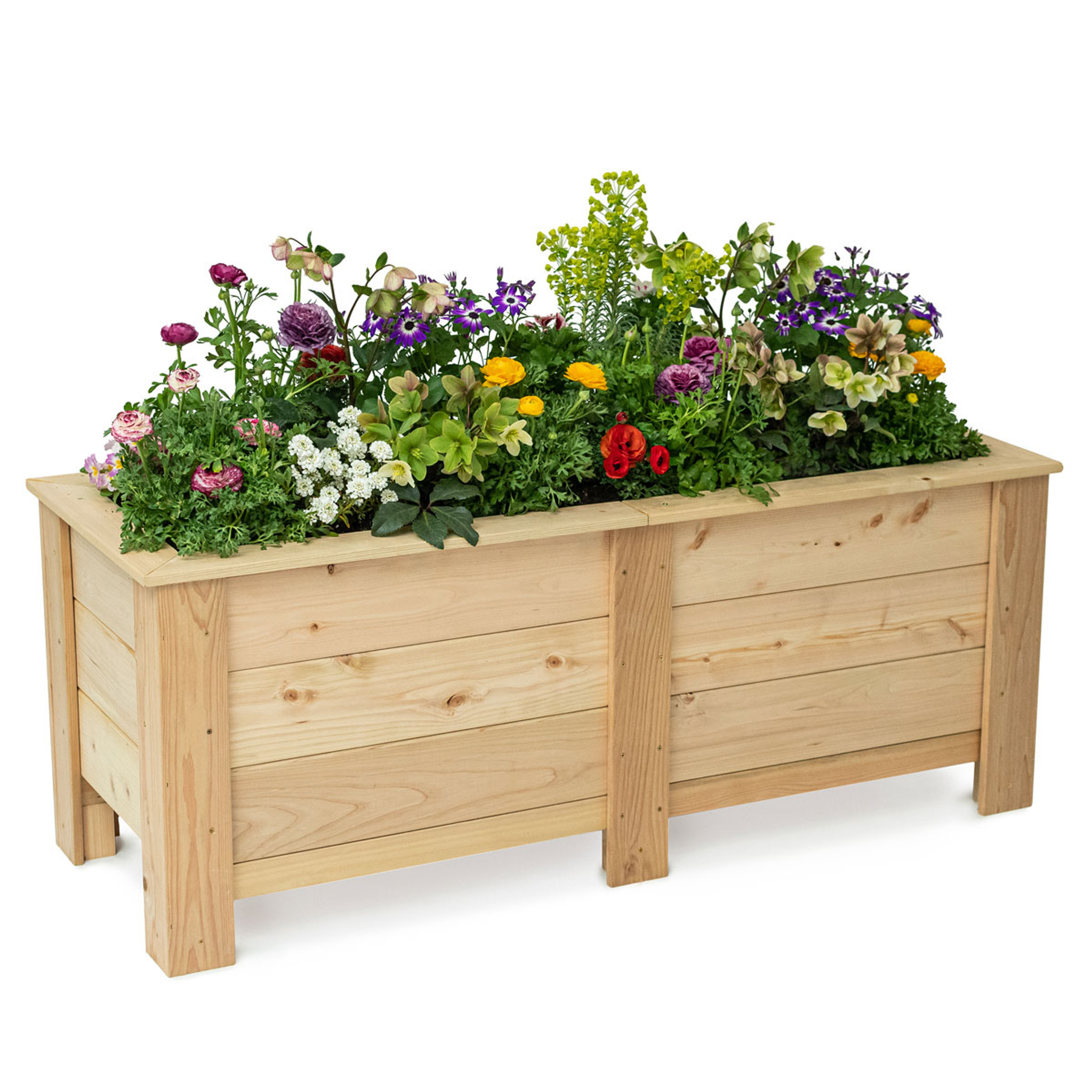 Natural Cedar Planter Boxes Eartheasy Com