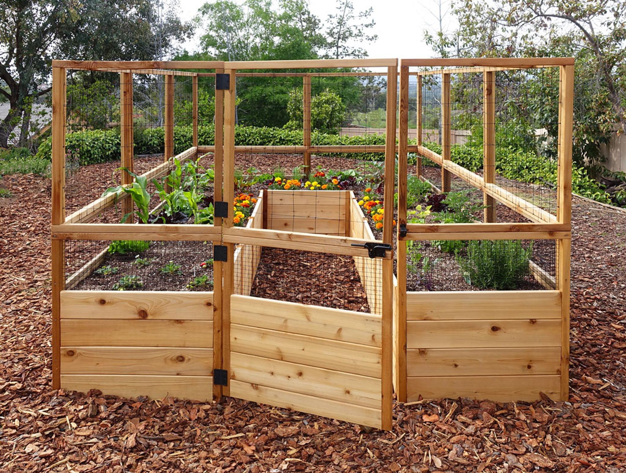 Deer Proof Raised Garden Bed Ideas - Plant Arts