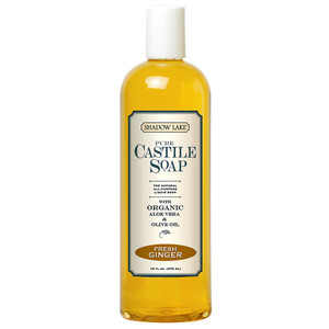 Fresh Ginger Castile Soap