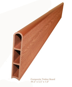 Wood Grain Composite Timber 1-inch