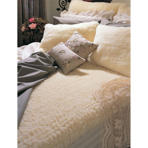SnugFleece Original Wool Mattress Cover