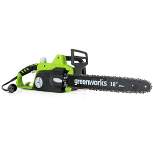 "Greenworks 18"" 14.5 Amp Electric Chain Saw"