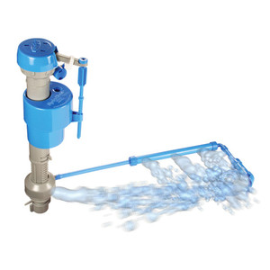 HydroClean Water-Saving Toilet Fill Valve with Cleaning Tube