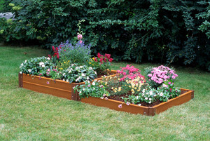 Two-Step Composite Raised Garden Bed - 4' x 8'
