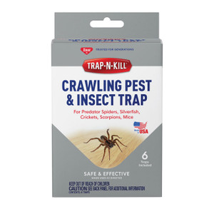 Non-Toxic Crawling Pest & Insect Trap - 6 Pack