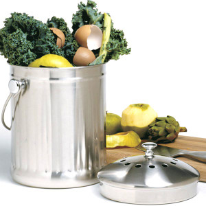 Stainless Steel Compost Keeper
