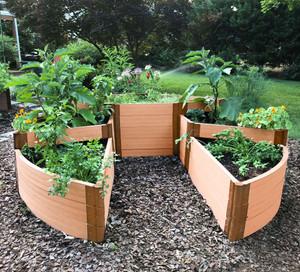 Circle Terraced Raised Garden Bed
