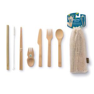 Bamboo Eat/Drink Tool Kit