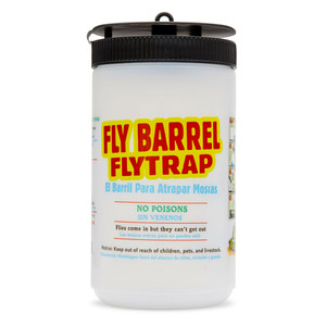 Flies Be Gone Reusable Barrel Trap