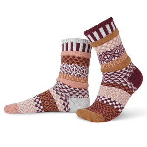 Amaranth Recycled Cotton Socks