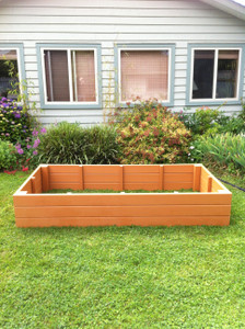 Recycled Plastic Raised Garden Bed - 4' x 6' x 11""