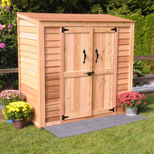 6' x 3' Patio Garden Shed