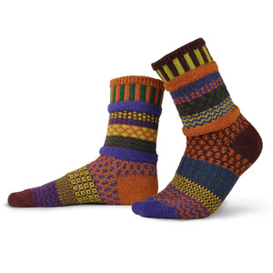 Fall Foliage Recycled Cotton Socks