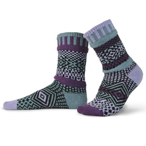 Wisteria Recycled Cotton Socks