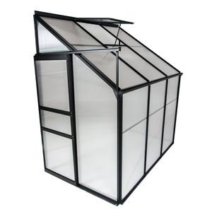 Ogrow Aluminium Lean-To 4' x 6' Greenhouse