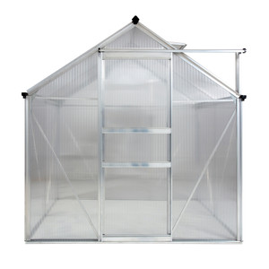 Ogrow Aluminium Walk-In Greenhouse - 6' Widths