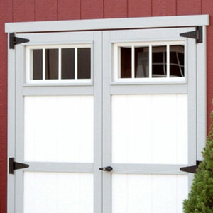 Transom Windows for Double Doors