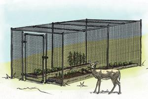 Deer Proof Fully Enclosed Garden Kit