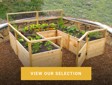 cedar complete school garden kit
