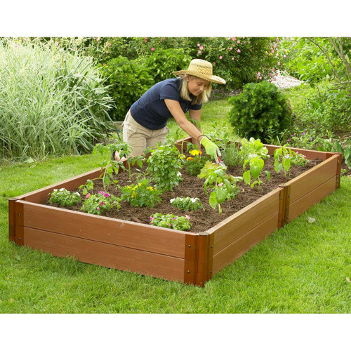 Composite Raised Garden Bed 4 X 8 Eartheasy Com