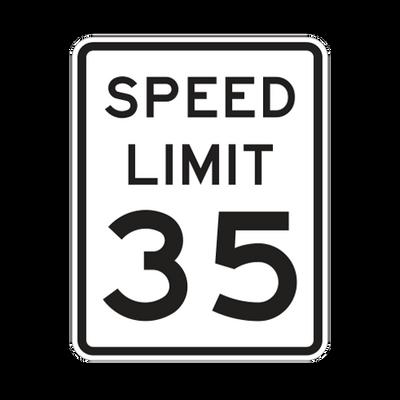 R2-1  -  SPEED LIMIT  -  24X30