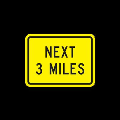 W7-3AP - NEXT (--) MILES - 24X18