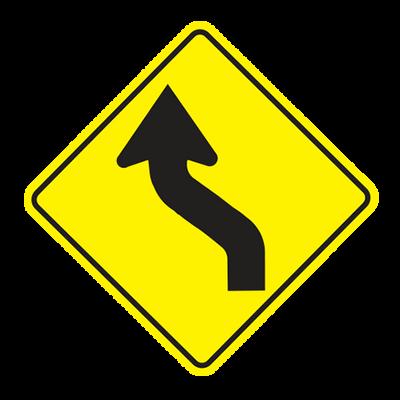 W1-4L - Left Reverse Curve - 30x30