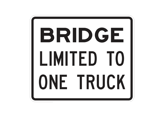 R12-1A - BRIDGE LIMITED TO ONE TRUCK - 36X30