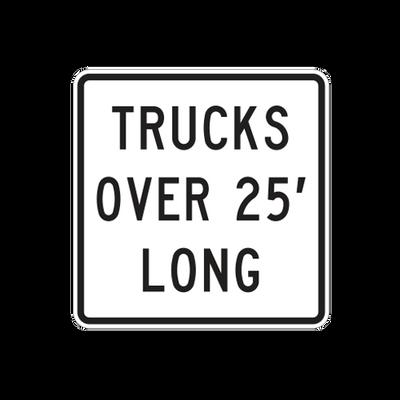 R3-102P - TRUCKS OVER (--) FEET LONG - 24X24