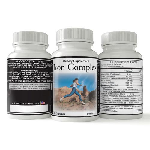 Iron Complex | Natural Iron Supplement