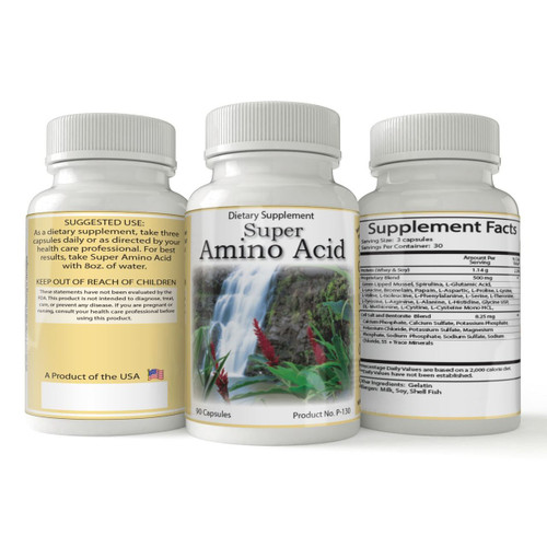 Super Amino Acid   Natural Amino Acid Support