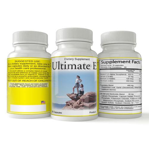Ultimate E | Natural Vitamin E  Antioxidant