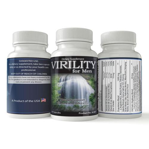 Virility For Men | Natural Male Enhancement