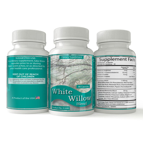 White Willow Blend   Anti-inflammatory Pain Relief