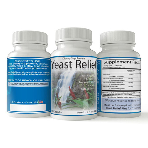 Yeast Relief | Natural Yeast Infection Remedy
