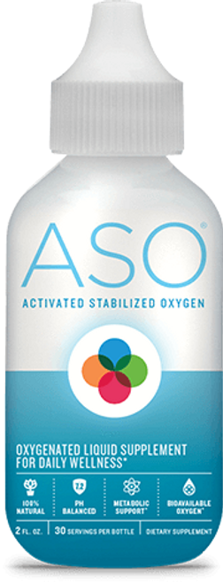 ASO 8 oz | Activated Stabalized Oxygen|