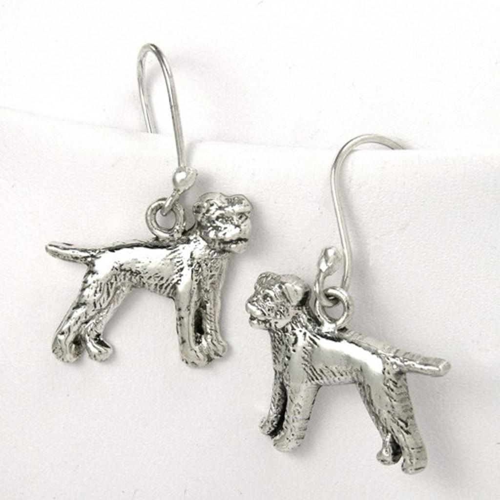 Border Terrier Earrings