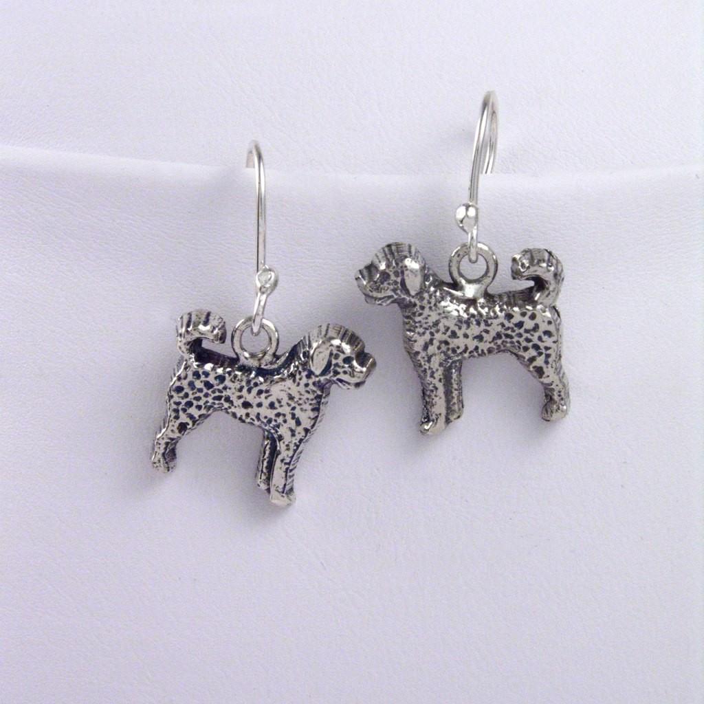 Labradoodle Earrings