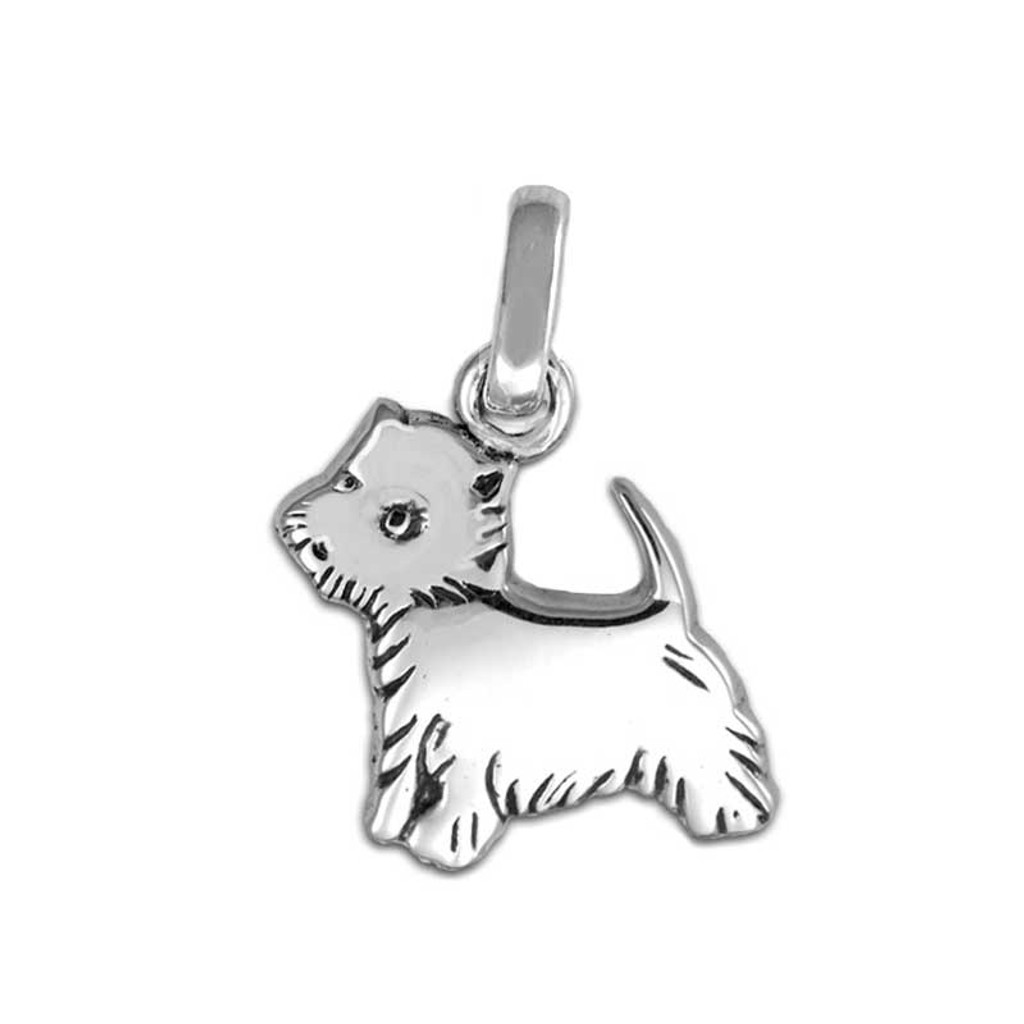 32c56805c Silver Westie Medium Charm | Dog Charms | Sterling Silver Dog ...