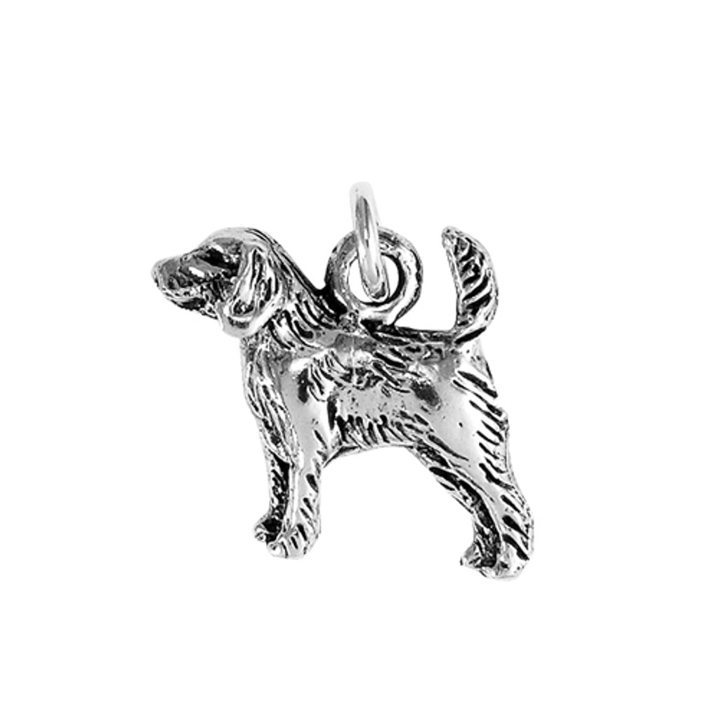 Beagle Hound Small Charm