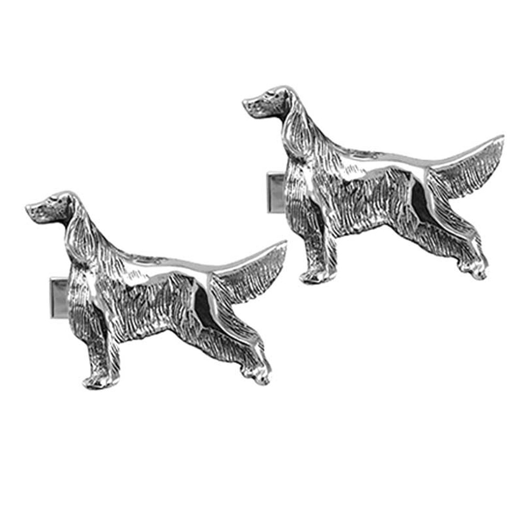 Irish  / English Setter Cufflinks
